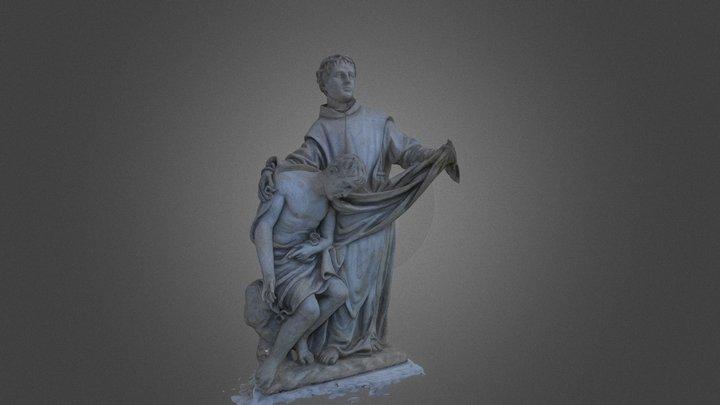 Statua Grande 3D Model