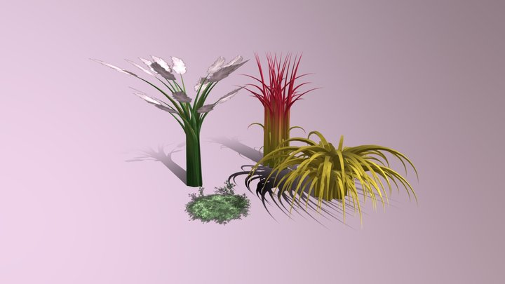 Organics: Grass 3D Model