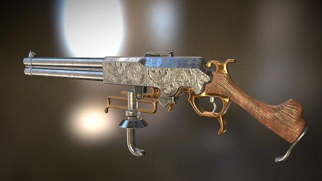 Keith Thomson Rifle 3D Model