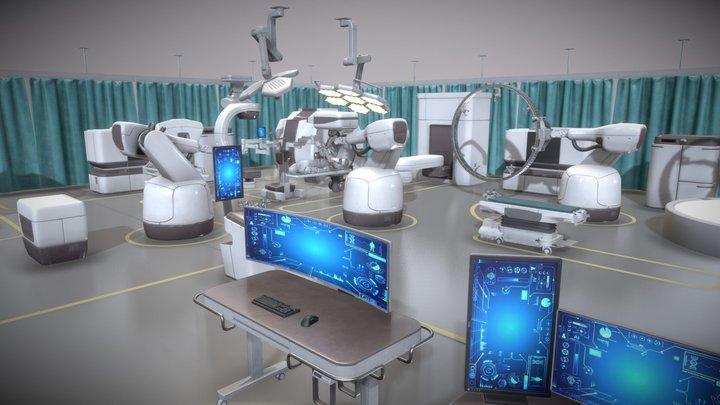 Medical Equipments 3D Model