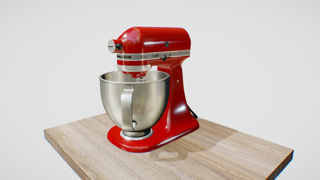 KitchenAid 3D Model