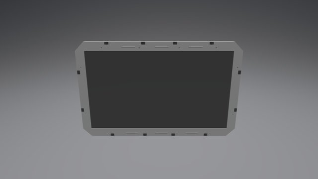 The 100 Ark Screen Monitor 3D Model