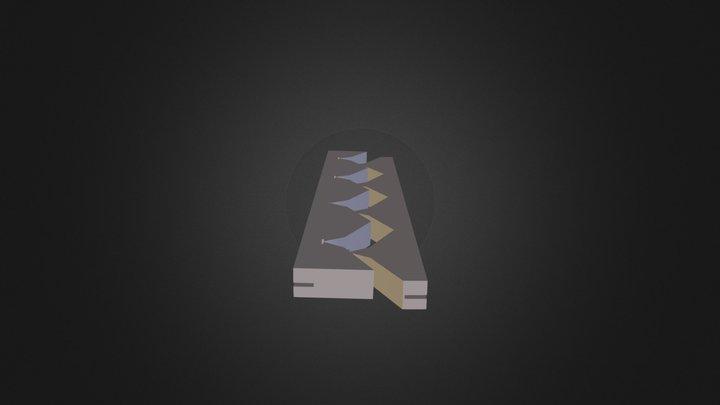 פיקה מחבר 3D Model