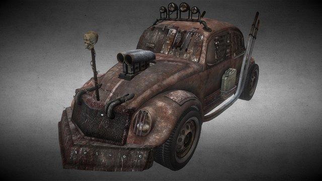 Maggiolino - Mad Max 3D Model