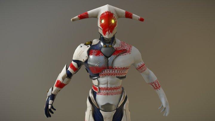 The Selk'nam Protector (In progress) 3D Model