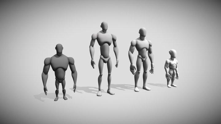 2283 Dubois Yann Proportions 3D Model