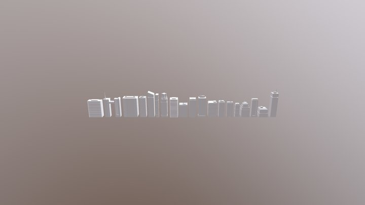 Printable Files December 2019 Calendar 3D Model