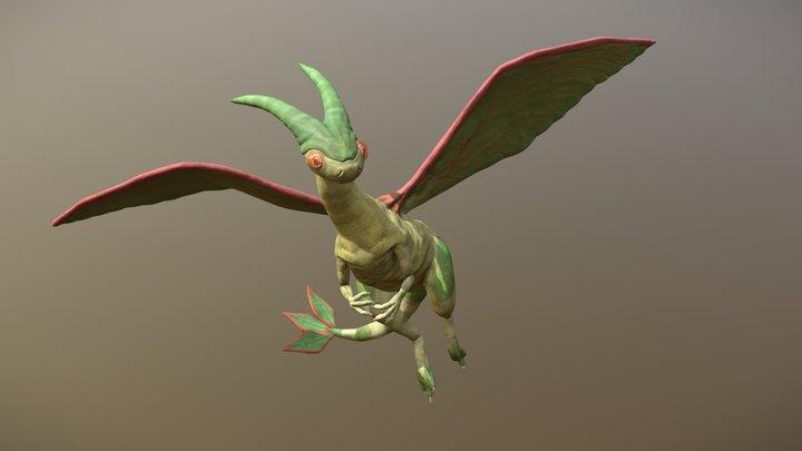 Flygon 3D Model