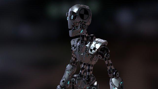 Crash_Test_Robot_Dummy_Male 3D Model