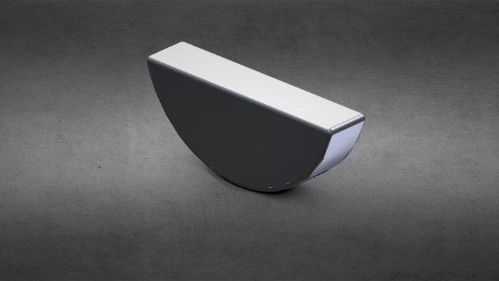 GAK Yarımay Kama DIN 6888 3D Model