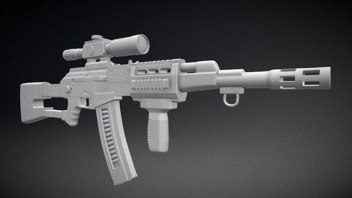 Experimental AK 3D Model