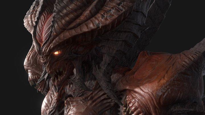 Diablo Prime Evil 3D Model
