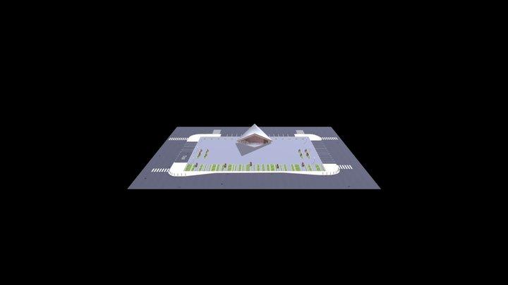 Piazza 3D Model