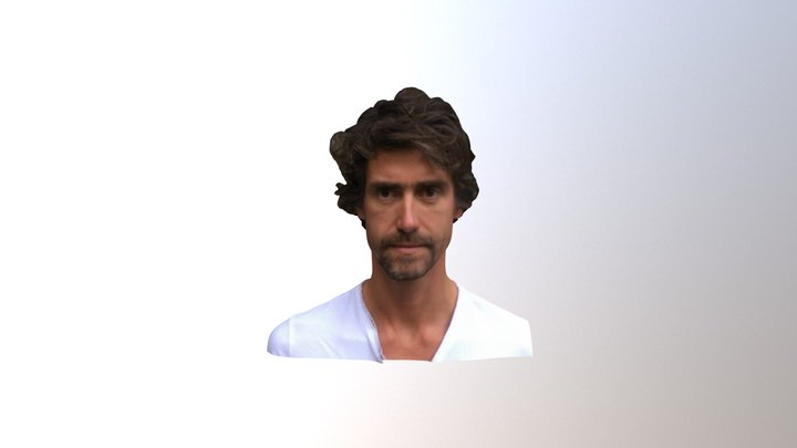 Francisco's Bust - Photogrammetry test 3D Model