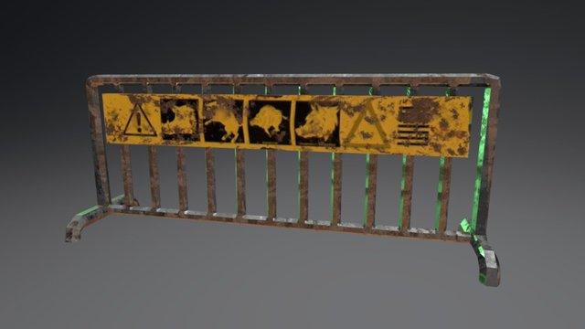 Guard Rail 3D Model