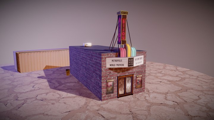 Black Rock Bijou for BRCvr 3D Model