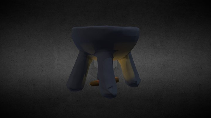 Hungry 3D Model