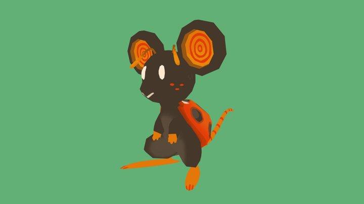 Folder Assignment: Ladybug Mouse 3D Model