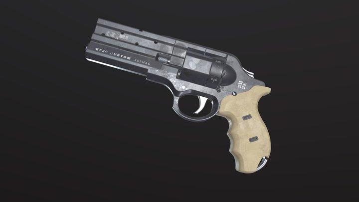 M720 Custom Game-Ready-Asset 3D Model