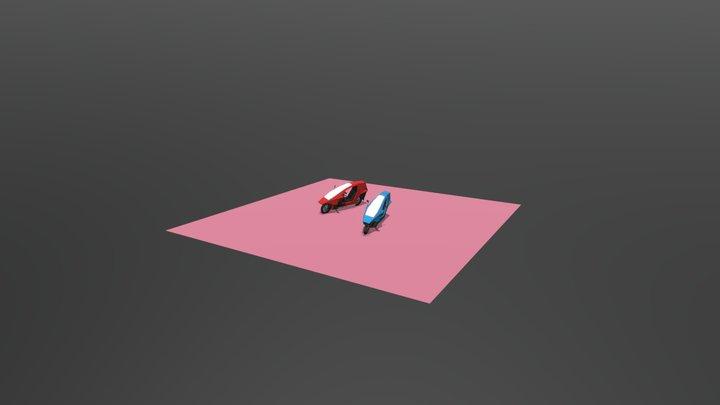 Quasar_Draft_Punk_4 3D Model