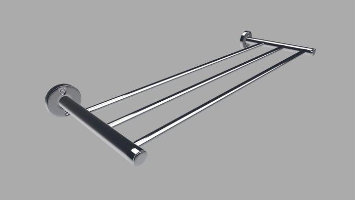 HELVEX - Multiple Porta Towels 3D Model