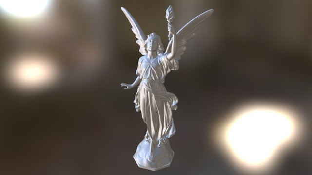 Angel - Anioł - Engel 3D Model