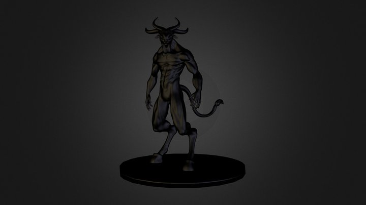Minotaur 3D Model