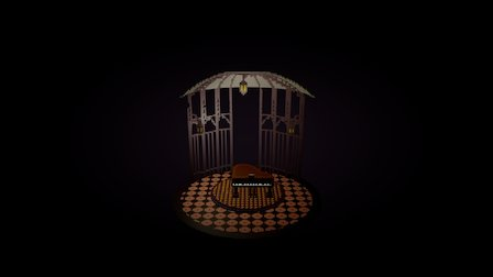 Piano Room 3D Model