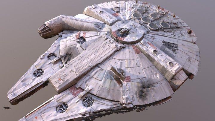 Rough Millennium Falcon Scan 3D Model