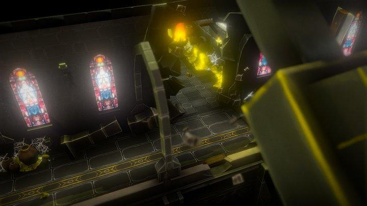 Elder Dungeon 3D Model