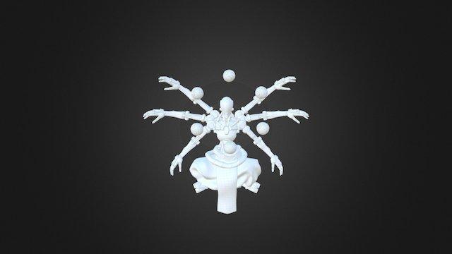Zenyatta 3D Model