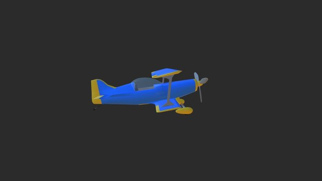 Pitts Special plane model 3D Model