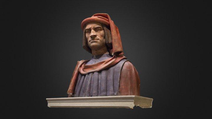 Lorenzo Medici 3D Model