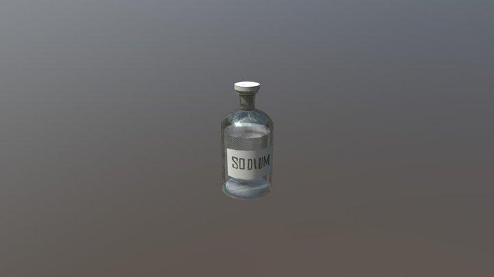 Sodium Bottle 3D Model