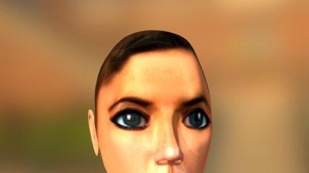 Human Head Model 3D Model