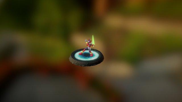 Zero Megaman 3D Model