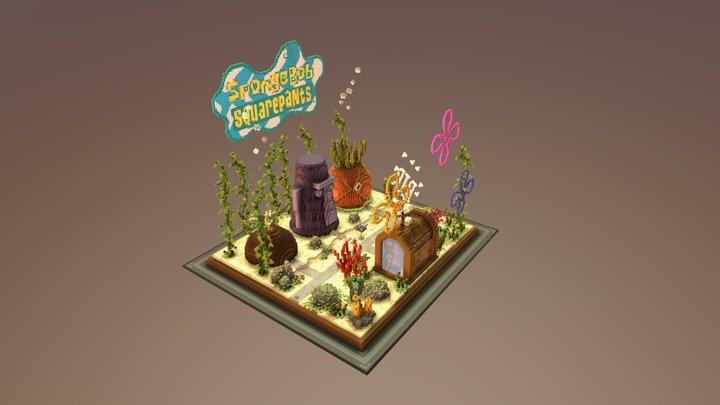 Practice / Spongebob Squarepants Arena 3D Model