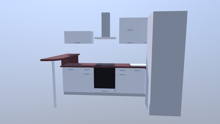 Nestekitchen 3D Model