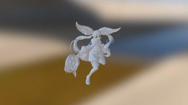 Lyn (Blade and Soul) - Fanart 3D Model
