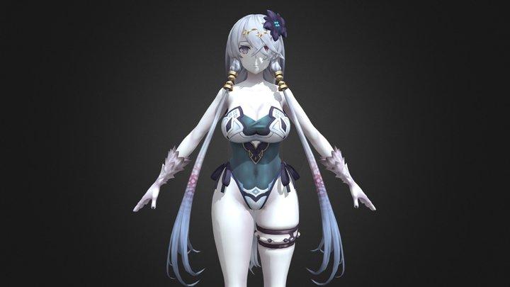 (A21 - PC) - Lila Decyrus (Swimsuit) 3D Model