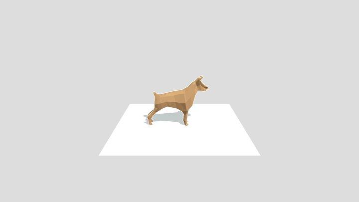 Doggo With Outline 3D Model
