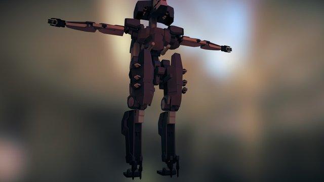 Sahelanthropus Anims 3D Model