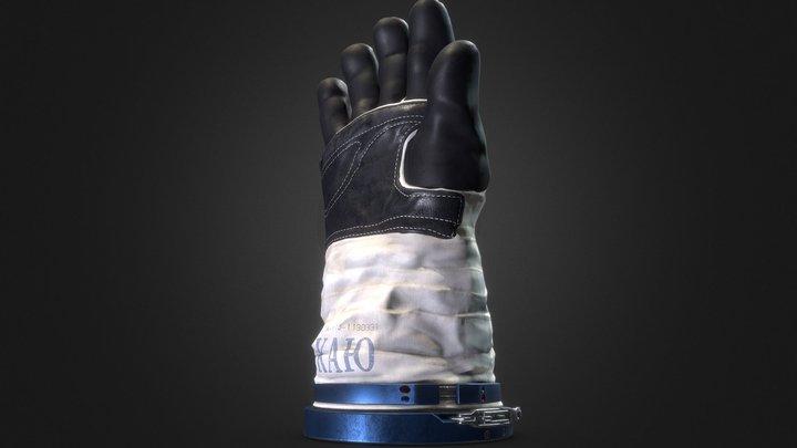Astronauts Glove 3D Model