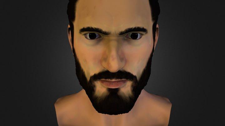 Self-Portrait with Mudbox 3D Model