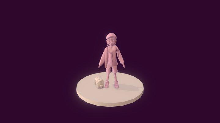 Objneni 3D Model