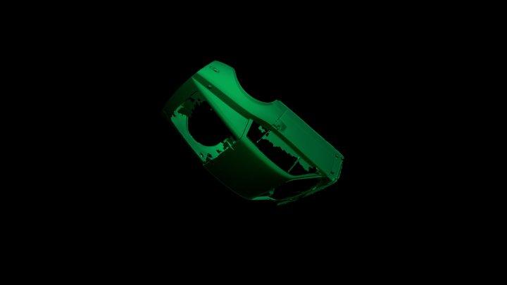 Saab Mesh 3D Model