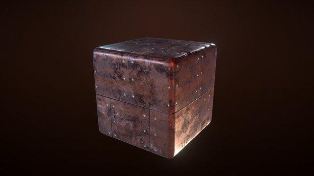 Copper Material 3D Model