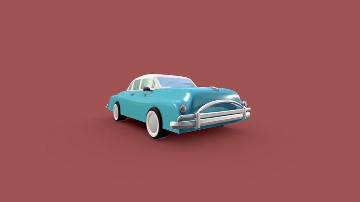 Classic Vintage Car 3D Model