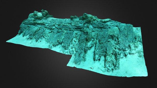 Yacimiento subacuático (Shipwreck) 3D Model