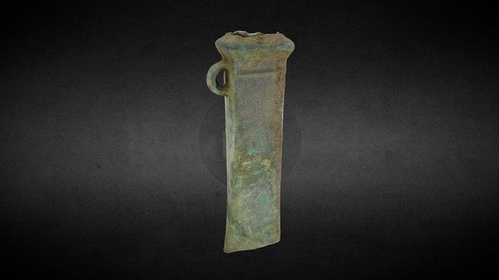 Evreux (FRA) - Bronze Age Axe (001) 3D Model